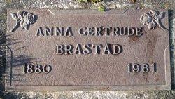 Anna Gertrude <i>Frostad</i> Brastad