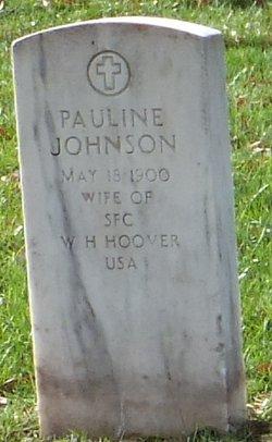 Pauline <i>Johnson</i> Hoover