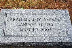 Sarah Ann Sally <i>Mulloy</i> Ashmore