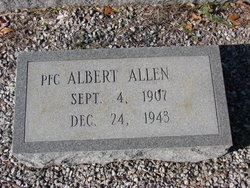 PFC Albert Allen