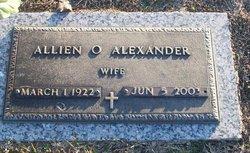 Allien U. <i>Odom</i> Alexander