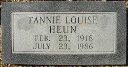 Fannie Louise Heun