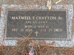 Corp Maxwell Sloan Crayton, Jr