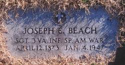 Sgt Joseph Elisha Beach