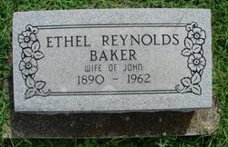 Ethel May <i>Reynolds</i> Baker
