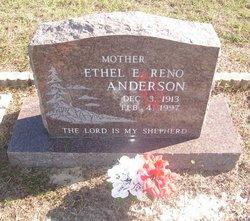 Ethel E <i>Reno</i> Anderson