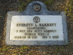 Everett LeRoy Barrett