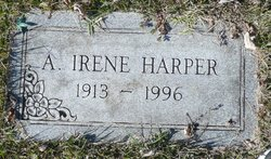 A Irene Harper