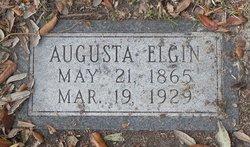 Augusta Emile <i>Powitzky</i> Elgin