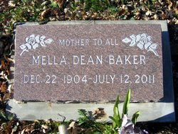 Mella Dean Baker