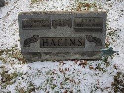Lucinda Lucy <i>Benton</i> Hagins