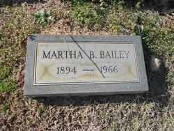 Martha B Bailey
