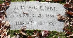 Alba McGee Hovis