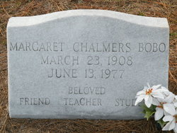 Margaret <i>Chalmers</i> Bobo