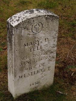 Mary D. Yell