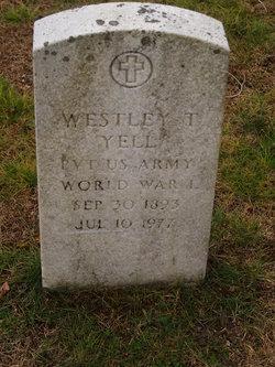 Westley T. Yell