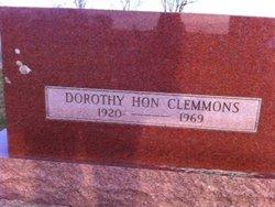 Dorothy <i>Hon</i> Clemmons