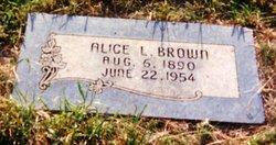 Alice Latona <i>Poor</i> Brown