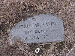 Clemmie Earl Canipe