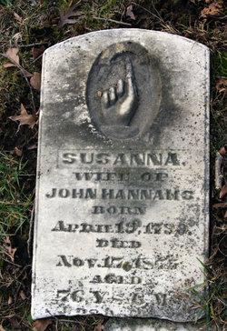 Susanna <i>Bunner</i> Hannahs