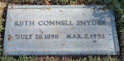 Ruth Connell Snyder