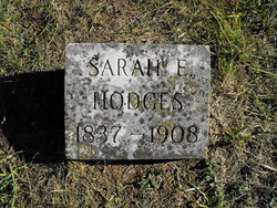 Sarah Elizabeth <i>Carroll</i> Hodges
