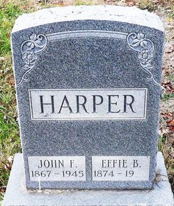 Effie Belle <i>Isgrigg</i> Harper