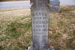 Nancy Ann <i>Alvis</i> Bierly