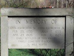 Johnson William John Jr. Ashworth
