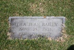Lola Jean Bailey