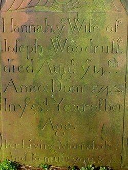 Hannah J. <i>Clark</i> Woodruff