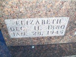 Elizabeth F <i>Clements</i> Holman