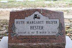 Ruth Margaret <i>Hillyer</i> Hester