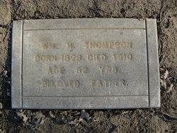 William Henderson Thompson