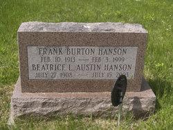 Frank Burton Hanson