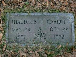 Thaddeus Troy Carroll