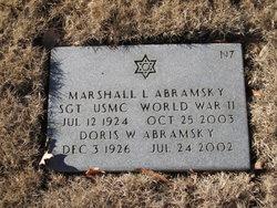 Doris Willner <i>Eisner</i> Abramsky