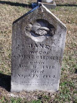 Jane <i>McGee</i> Gardner