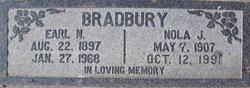 Nola Jane <i>Hicks</i> Bradbury
