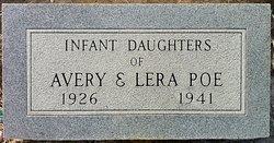 Infant Daughter Poe