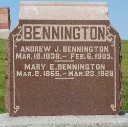 Mary E. <i>Nash</i> Bennington