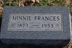 Minnie Frances <i>Orsburn</i> Cates