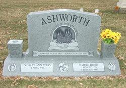 Harold Heber Ashworth