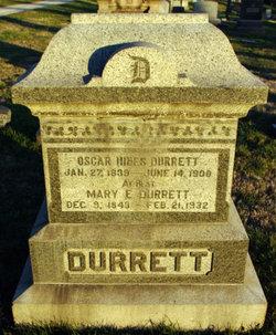 Mary Elizabeth <i>LaRue</i> Durrett