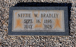 Nettie Vesta <i>Williams</i> Bradley