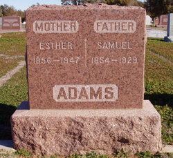 Esther J <i>Call</i> Adams