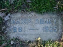 Mamie <i>Rann</i> Abney