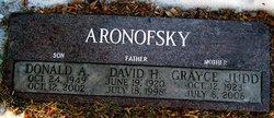 Donald Alan Aronofsky