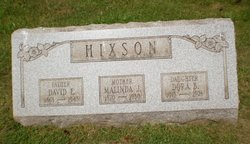 David E Hixson