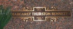 Margaret <i>Thurston</i> Bennett